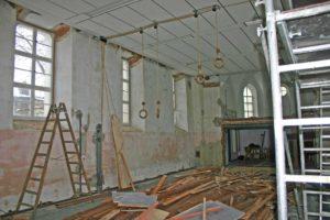 Alte Kirche wird entkernt
